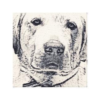 Impressão sábio de Labrador Impressão Em Tela
