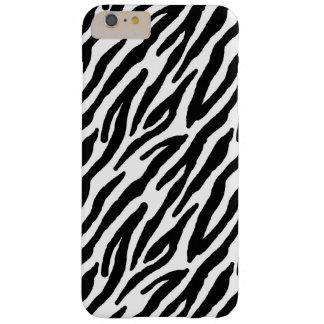 Impressão Sassy da zebra Capas iPhone 6 Plus Barely There