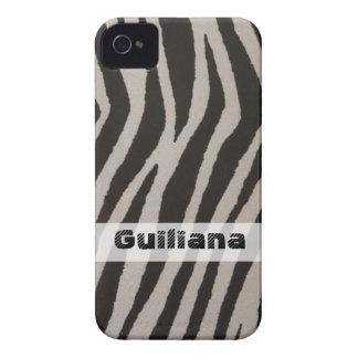 Impressão selvagem da zebra capa para iPhone