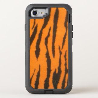 Impressão selvagem do tigre capa para iPhone 7 OtterBox defender