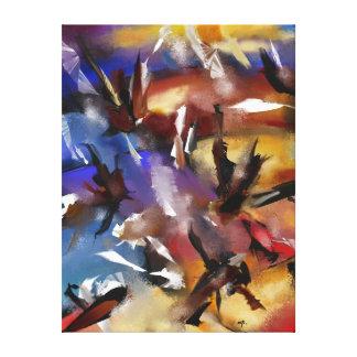 """Impressão sobre tela, """"Abstract 1.1705 """""""