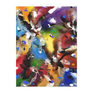 """Impressão sobre tela, """"Abstract 2.1705 """""""