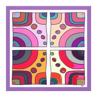 Impressão sobre tela extra grande, Bubble Gum Arte