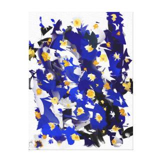 """Impressão sobre tela, Pequeno modelo, """"Blue"""