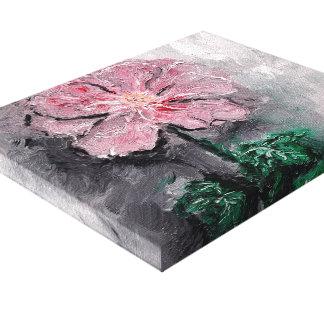 Impressão sombreado das canvas do óleo das pétalas impressão em tela canvas