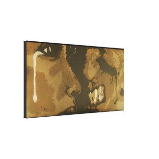 """Impressão superior das canvas da """"escuridão"""" impressão em canvas"""