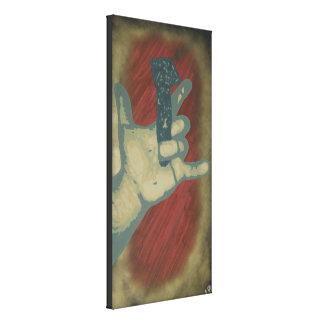 """Impressão superior das canvas do """"amor"""""""
