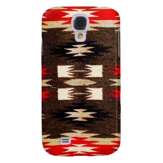 Impressão tribal do design do Navajo do nativo Galaxy S4 Case