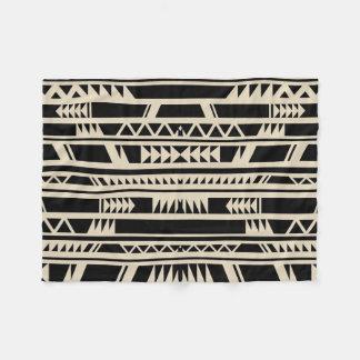 Impressão tribal étnico do design geométrico cobertor de lã