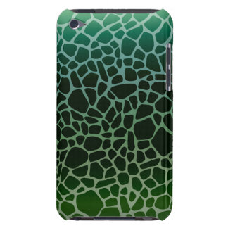 Impressão verde do girafa de Ombre Capas iPod Touch