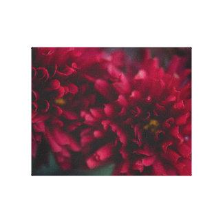 Impressão vermelho das canvas das mães