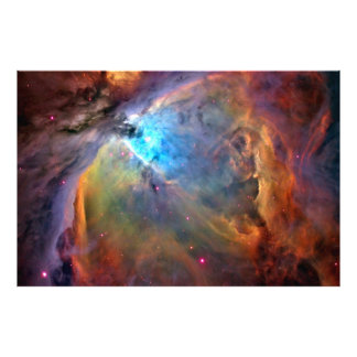 Impressão X LG 60x40 da foto da galáxia do espaço  Impressão De Foto