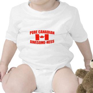 Impressionante-Ness canadense puro Macacão