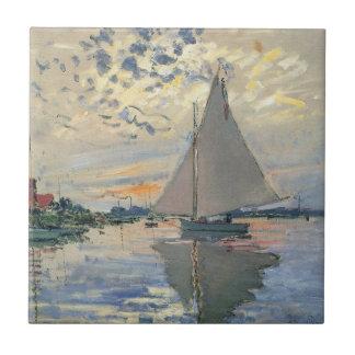 Impressionista do francês do veleiro de Monet