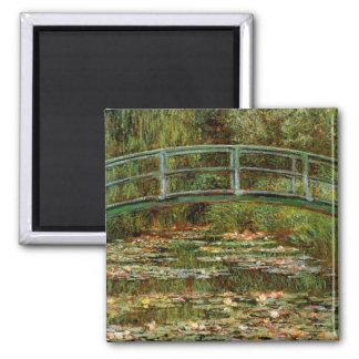 Impressionista japonês francês da ponte de Monet Imas De Geladeira