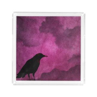 Impressões assustadores do corvo do Dia das Bruxas