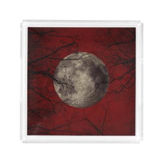 Impressões assustadores do Dia das Bruxas da lua
