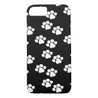 Impressões da pata do animal de animais de capa iPhone 7