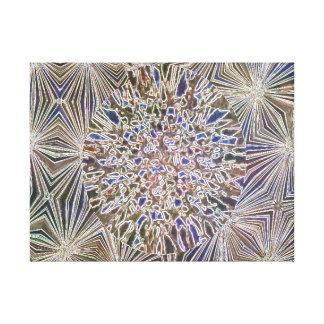 Impressões das canvas dos mosaicos de Brown azul