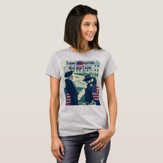 Impressões digitais camiseta
