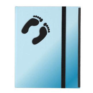 Impressões do pé capa iPad