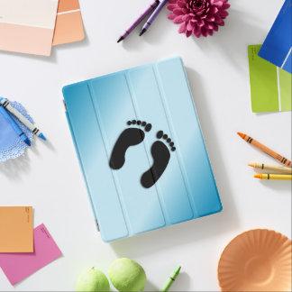 Impressões do pé capa smart para iPad