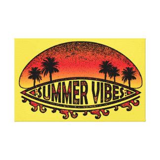 Impressões do verão - pôr do sol infinito