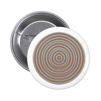 Impressões equilibradas da energia - indique perto bóton redondo 5.08cm
