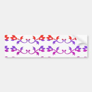Impressões FEMININOS da jóia: Padrões da cor de Ba Adesivo Para Carro