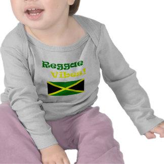 Impressões jamaicanas da reggae tshirts