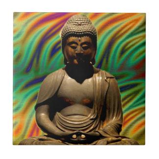 Impressões Meditating calmos de Buddha