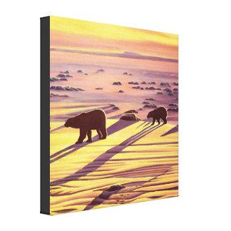 Impressões & posters da pintura do urso polar