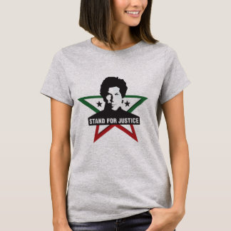 Imran Khan - suporte para o t-shirt de justiça Camiseta