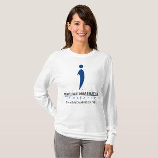 Inabilidades invisíveis Assoc - a camisa longa das