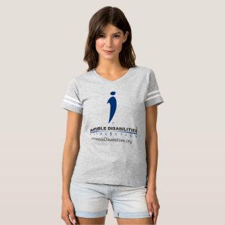 Inabilidades invisíveis Assoc - camisa do Footbl