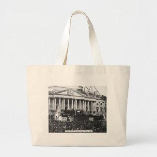Inauguração Abraham Lincoln do 4 de março de 1861 Bolsas De Lona