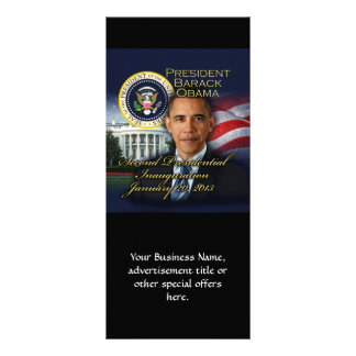 Inauguração do presidente Obama a Panfletos Informativos Personalizados