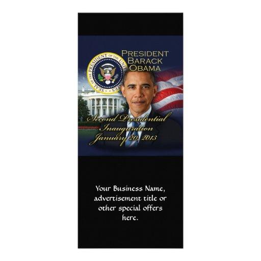 Inauguração do presidente Obama ?a Panfletos Informativos Personalizados