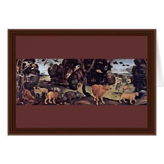 Incêndio florestal por Piero di Cosimo (a melhor q Cartao