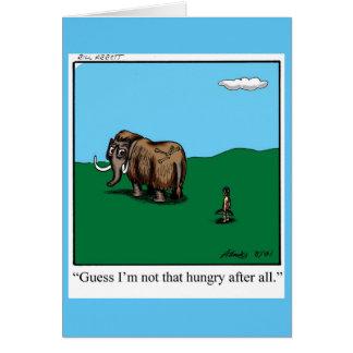 Incentivo do humor do cartão