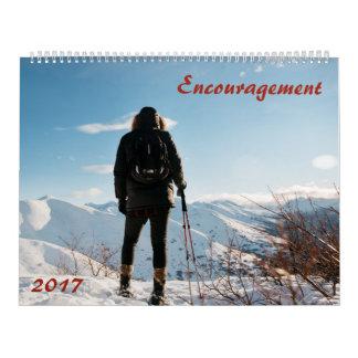 Incentivo no calendário da palavra do deus