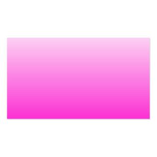 Inclinação cor-de-rosa fluorescente modelo de cartões de visita