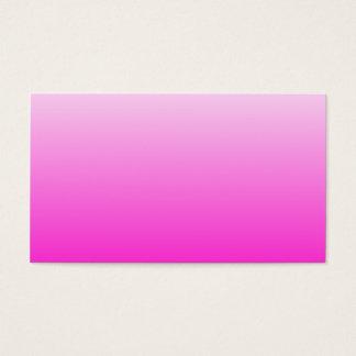 Inclinação cor-de-rosa fluorescente cartão de visitas