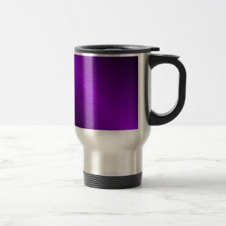 Inclinação D1 bilinear - preto e violeta Caneca Térmica