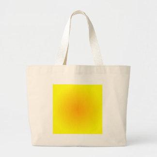 Inclinação radial - amarelo à laranja sacola tote jumbo