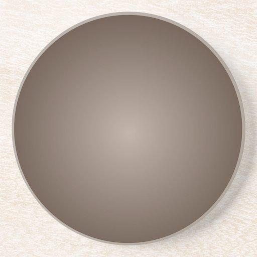 Inclinação radial - Brown escuro e luz - marrom Porta-copos