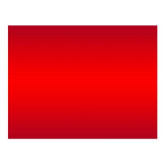 Inclinação vermelho nuclear - vazio do modelo dos cartão postal