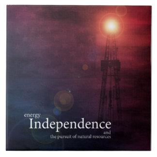Independência energética azulejo
