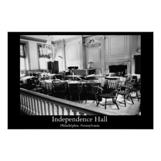 Independência Salão Pôster