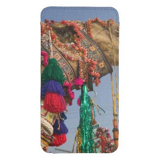 INDIA, Rajasthan, Pushkar: CAMELO DE PUSHKAR JUSTO Bolsinha Para Celular